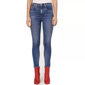 RAG & BONE O Ring Dive Capri Skinny Jeans size 23